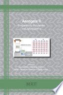 Aerogels II