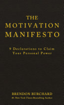 The Motivation Manifesto Pdf/ePub eBook