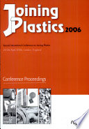 Joining Plastics 2006 Book PDF
