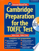"""Cambridge Preparation for the TOEFL® Test Book with CD-ROM"" by Jolene Gear, Robert Gear"