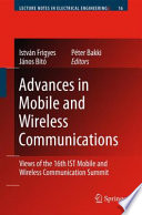 Advances in Mobile and Wireless Communications Book