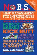 No B.S. Time Management for Entrepreneurs Pdf/ePub eBook