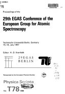 Proceedings of the ... EGAS Conference of the European Group for Atomic Spectroscopy