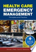 Health Care Emergency Management Book