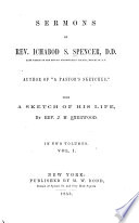 Sermons of Rev  Ichabod S  Spencer