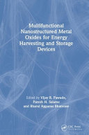 Multifunctional Nanostructured Metal Oxides for Energy Harvesting and Storage Devices