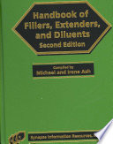 Handbook of Fillers, Extenders, and Diluents