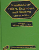 Handbook of Fillers  Extenders  and Diluents