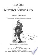 Memoirs of Bartholomew fair  Repr