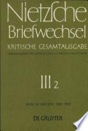 Briefe an Friedrich Nietzsche Januar 1880 - Dezember 1884