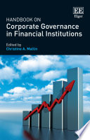 Handbook on Corporate Governance in Financial Institutions