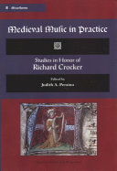 Medieval Music in Practice Book