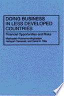 Doing Business in Less Developed Countries