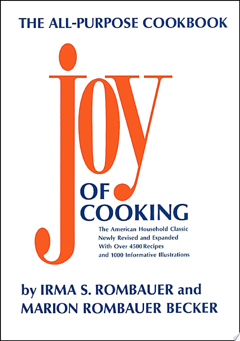 Joy of Cooking banner backdrop