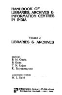 Handbook of Libraries, Archives & Information Centres in India: Libraries & archives