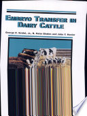 Embryo Transfer in Dairy Cattle