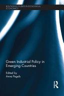 Green Industrial Policy in Emerging Countries Pdf/ePub eBook