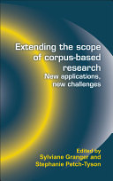 Extending the Scope of Corpus based Research