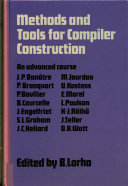 Methods and Tools for Compiler Construction