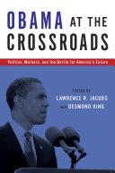 Pdf Obama at the Crossroads