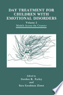 Day Treatment for Children with Emotional Disorders