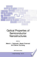 Optical Properties Of Semiconductor Nanostructures Book PDF