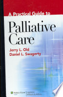 A Practical Guide To Palliative Care Book PDF