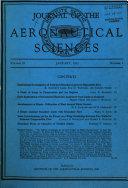 Journal Of The Aeronautical Sciences