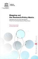 Mapping Out the Research-policy Matrix