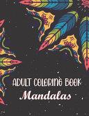 Adult Coloring Book   Mandalas