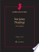 Lexisnexis Practice Guide New Jersey Pleadings