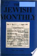 The Jewish Monthly
