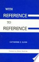 With Reference to Reference