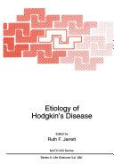 Etiology of Hodgkin's Disease