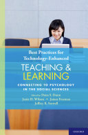 Best Practices for Technology Enhanced Teaching and Learning