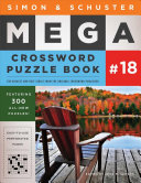 Simon   Schuster Mega Crossword Puzzle Book  18