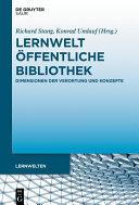 Lernwelt Öffentliche Bibliothek [Pdf/ePub] eBook