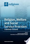 Religion  Welfare and Social Service Provision Book