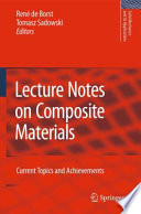 Lecture Notes On Composite Materials Book PDF