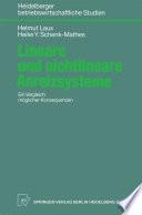 Lineare und nichtlineare Anreizsysteme