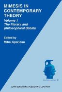 Pdf Mimesis in Contemporary Theory: The literary and the philosophical debate