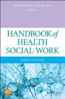 Handbook of Health Social Work Pdf/ePub eBook