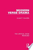 Modern Verse Drama