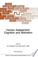 Human Assessment  Cognition and Motivation