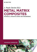 Metal Matrix Composites Book