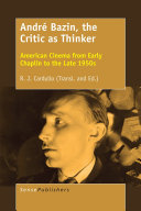 Pdf André Bazin, the Critic as Thinker Telecharger