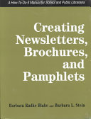 Creating Newsletters  Brochures  and Pamphlets