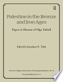 Palestine in the Bronze and Iron Ages