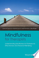 Mindfulness for Therapists Book PDF
