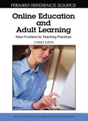 Online Education and Adult Learning  New Frontiers for Teaching Practices